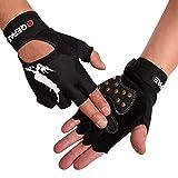 Tofern Unisex Handschuhe halbfinger Lycra fluoreszierend Muster für...