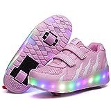 Skybird-UK LED Leuchtend Schuhe mit Rollen Ultraleicht Outdoor...