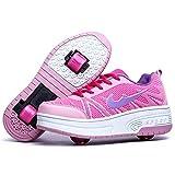 Wasnton Skater-Schuhe / Kinder-Turnschuhe mit 1/2Rollen, - Web...