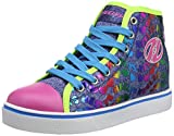 Heelys Mädchen Veloz Hohe Sneaker, Mehrfarbig (Denim/Glitter/Rainbow...